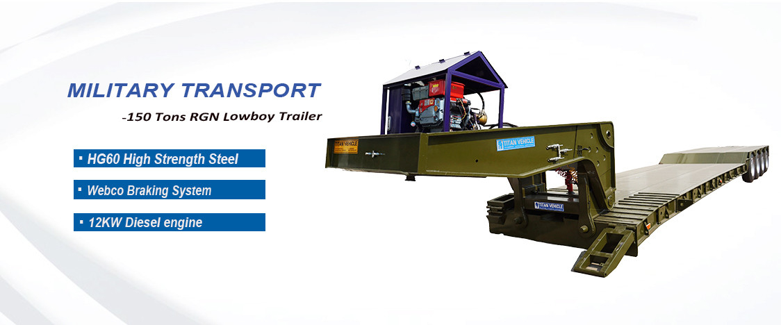 China best Lowboy Trailer on sales