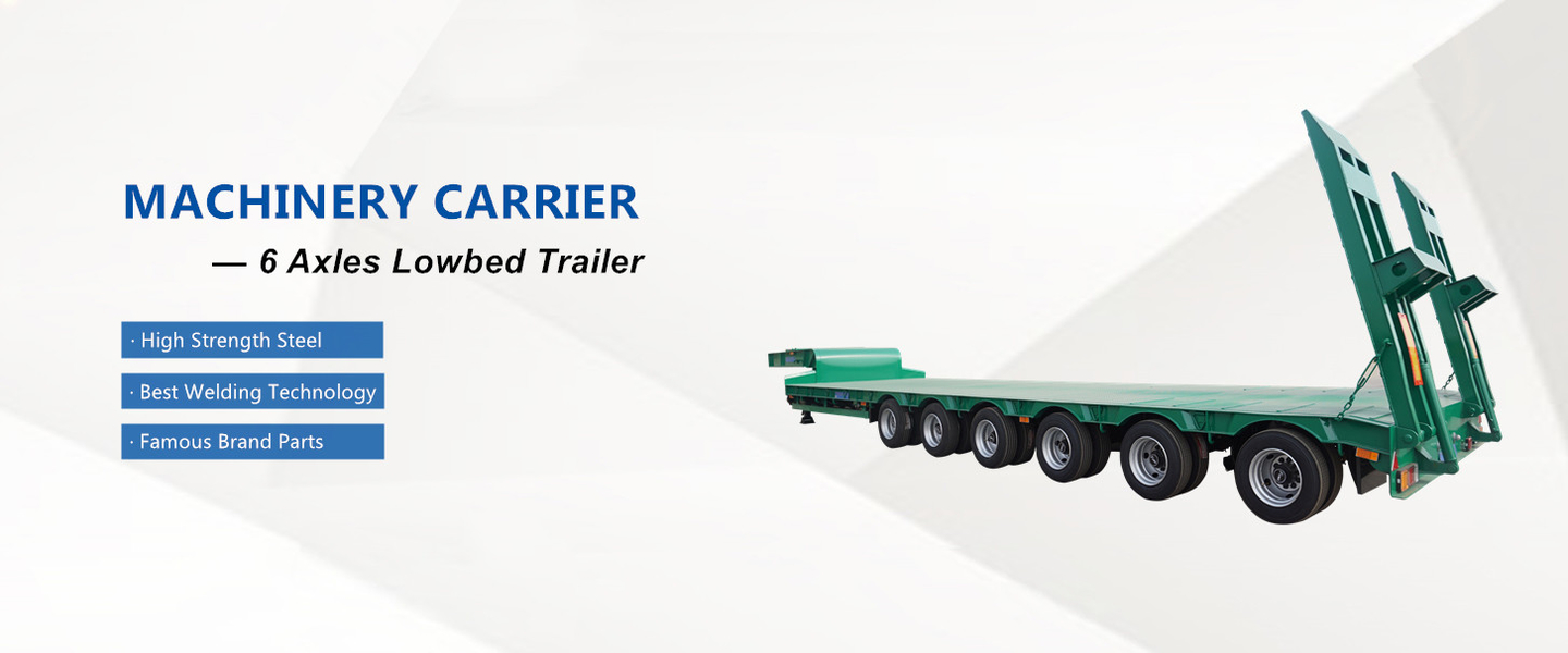 China best Low Bed Trailer on sales