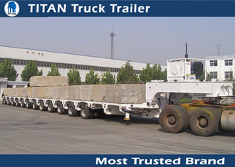 China High Strength Steel Multi Axle Trailer supplier