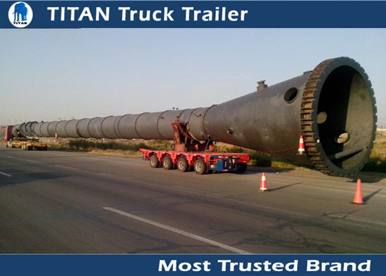China Factory Equipment Transportation hydraulic modular trailer with Multi Axle supplier