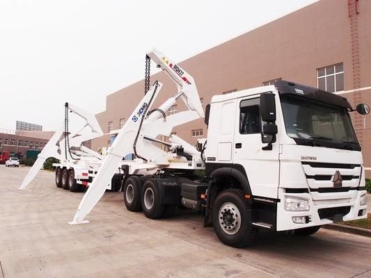 China CIMC box loader trailer for 20ft 40ft container handling and transport supplier