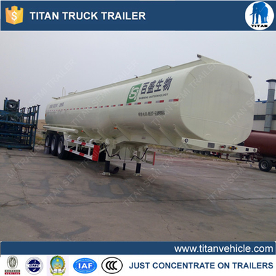 China 1 Compartment 50000 liters diesel fuel tank trailer For Mali , chemical tank trailer supplier