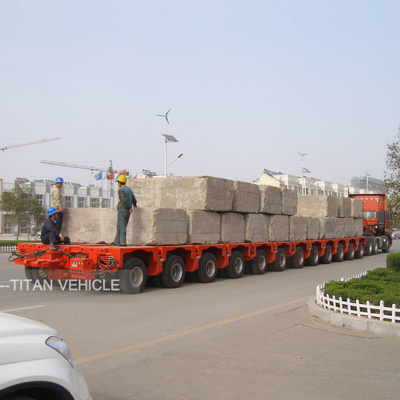 China Hydraulic Multi Axle Modular Trailer supplier