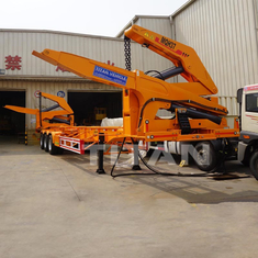 China 40ft self loading trailer container side loader trailer container side loader supplier