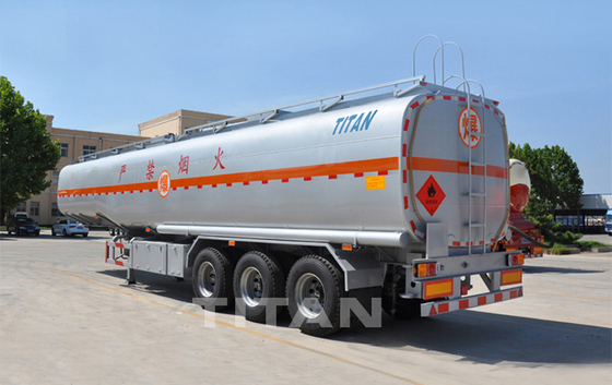 China 3 axle oil tanker semi trailer 45,000/47000 liters Fuel Tanker Trailer factory