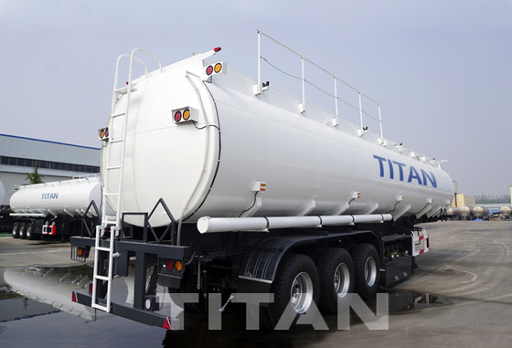 China 3 axle Fuel Tanker Trailer 45,000/47000 liters diesel fuel trailer manufacturers factory