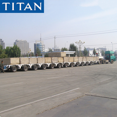 China TITAN Combinable road-going transport trailer supplier