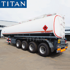 China TITAN 45000/50000/60000 litre capacity fuel tanker trailer price factory