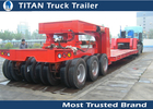 China Custom built cargo Heavy Haul Trailers , wind power equipment transportation trailer factory
