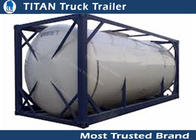 China Fuel petrol oil container tanks semi truck trailer with international standard factory