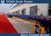 China Building Structures Extendable Flatbed Trailer company
