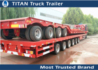 China Hydraulic Extendable Flatbed Trailer factory