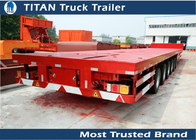 China Overlength 43m long Hauling Wind Turbines Extendable Blade Trailers 40 - 80 tons factory