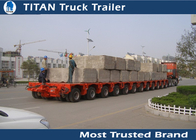 China 200 Ton Semi Multi Axle Trailer company