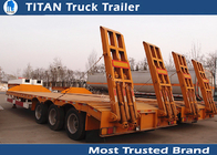 China 3 Axles Used Semi Trailers factory