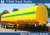China 40000 Liters milk tanker trailer , 1 3 5 compartment pneumatic tank trailers factory
