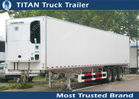 China Thermo King 20ft 40ft 53ft mobile refrigerated trailer truck / cooler trailer company