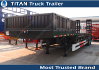 China 2 Axles Low Bed Trailer factory