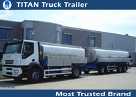 China Small Capacity Drawbar Trailer factory