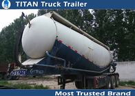 China Super used cement semi trailer with 60tons - 80tons loading capacity factory