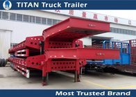China Durable heavy haulage 3 - 8 axle trailer for Transportating Construction Machinery factory