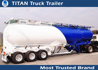 China 20Tons - 50Tons Loading capacity cement Trailer , semi trailer tanker factory