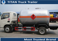 China LPG Mobile Gas Filling Tanker Trailer , Customized Truck Trailer factory