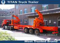 China 3 Axle Side Loader Trailer factory