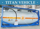 China Carbon Steel ISO Tanker container , 20ft Diesel Fuel LNG LPG Transport Tank Container factory