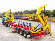 CIMC box loader trailer for 20ft 40ft container handling and transport supplier