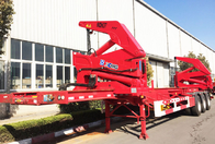 China 37 ton 40 ton Side Loader Trailer for loading 20 foot 40 foot Containers factory