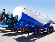 China Dry cement carrier tank semi trailer 60 ton Bulk cement trailer TITAN company