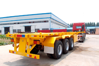 China Container Delivery Chassis Trailers 40 Ft Container Semi Trailer TITAN factory