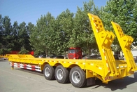 TITAN 80 T low bed trailer / lowbed trailer for heavy duty machine transportation