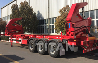 TITAN factory price 20ft sidelifter 37 tons container loading China semi trailer supplier