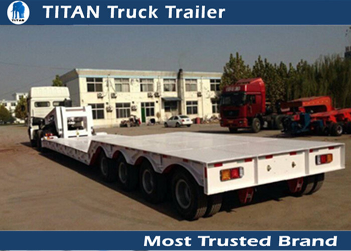 Semi Tractor Front Axle : Front loading semi truck trailer ton removable goose