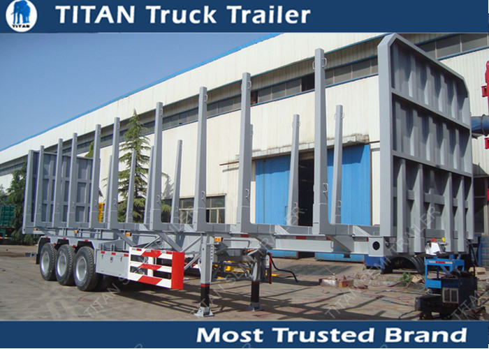 Tri Axle Logging Trailer supplier