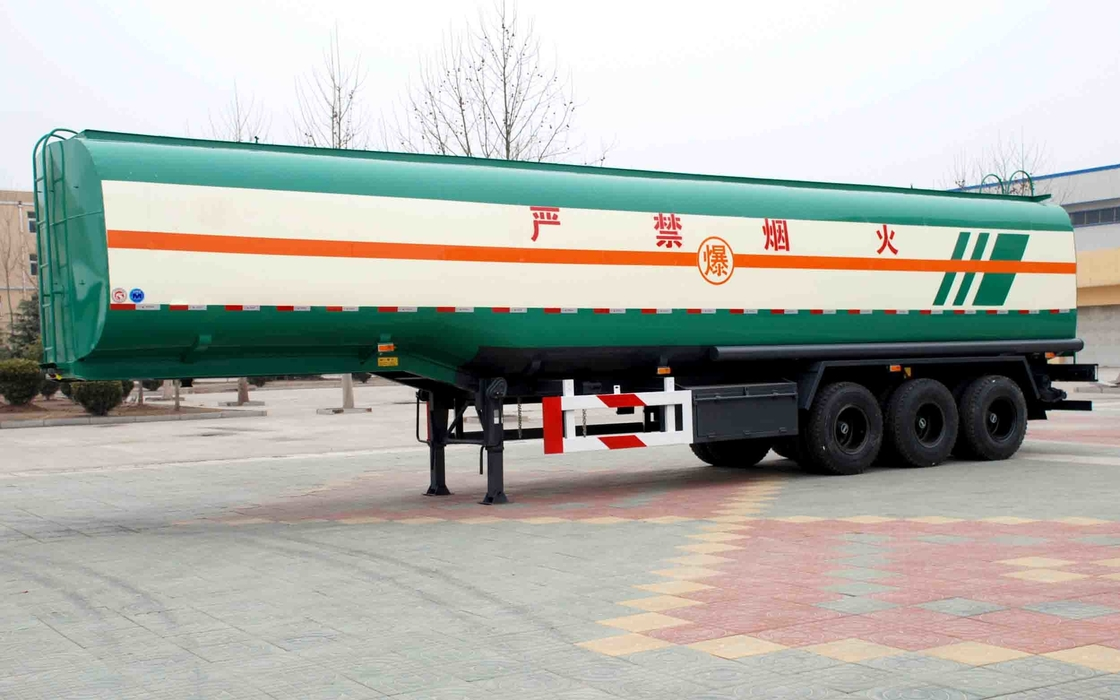 TITAN 60CBM Petroleum tank trailers with three axle for a large capacity supplier