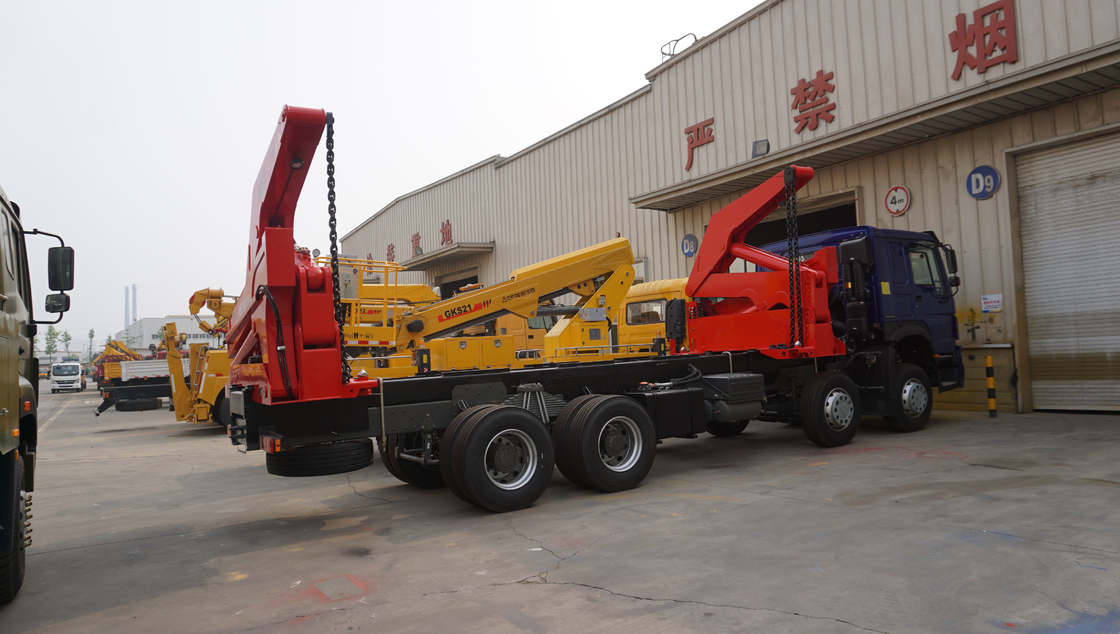 Self loading container truck for loading 20ft container |Titan Vehicle supplier