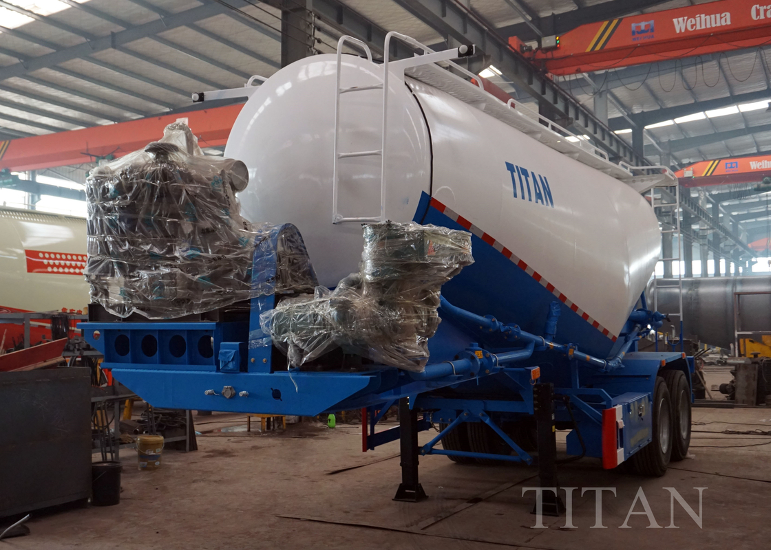 2 axle dry powder materiel cement bulker transportation