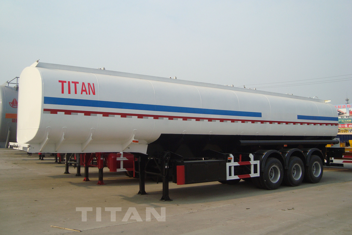 54000 liters of fuel semi trailer with carbon steel tank four company compartment tank trailer for sale supplier