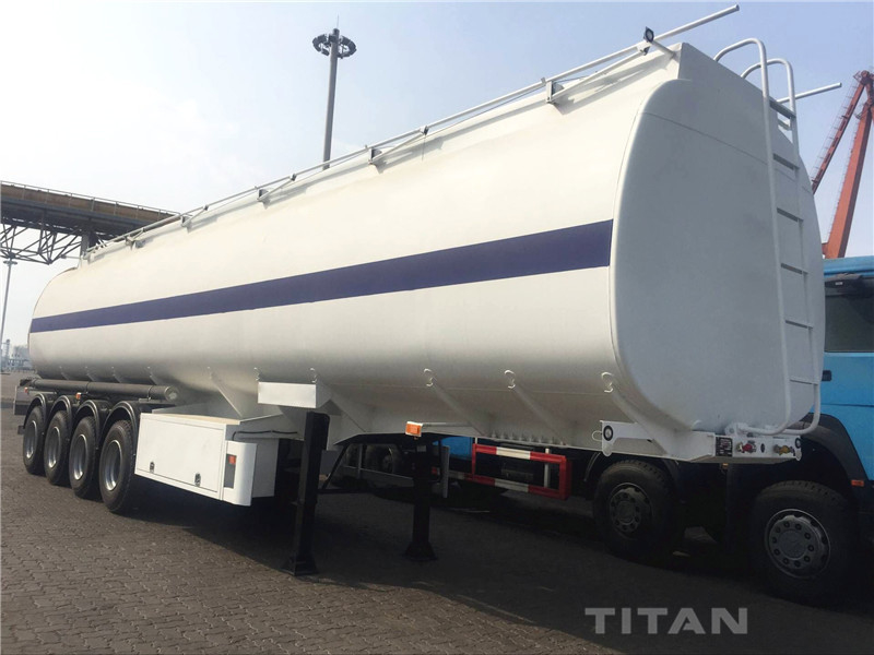fuel tanker trailer with 45000 to 50000 liter stainless steel tank that can handle high salinity water supplier