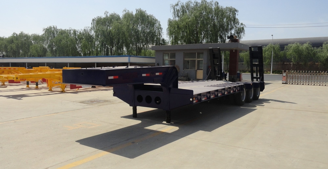 Low Bed Trailer for the transport of 75 ton and 45 ton machines foe sale supplier