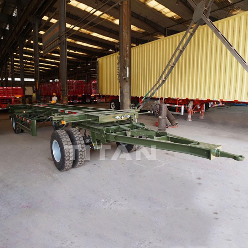 2 Axle 40ft Trailer Skeleton for Sale near me in Gabon