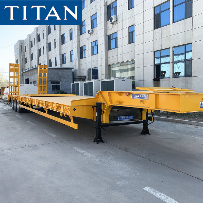 Lowbed Semi for Transport Excavator and Heavy Duty Equipments supplier