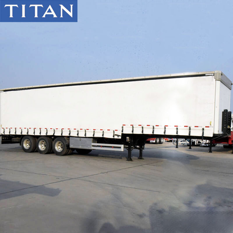 45FT Tautliner Curtains PVC Tarpaulin Side Curtain Trailer fo Sale supplier
