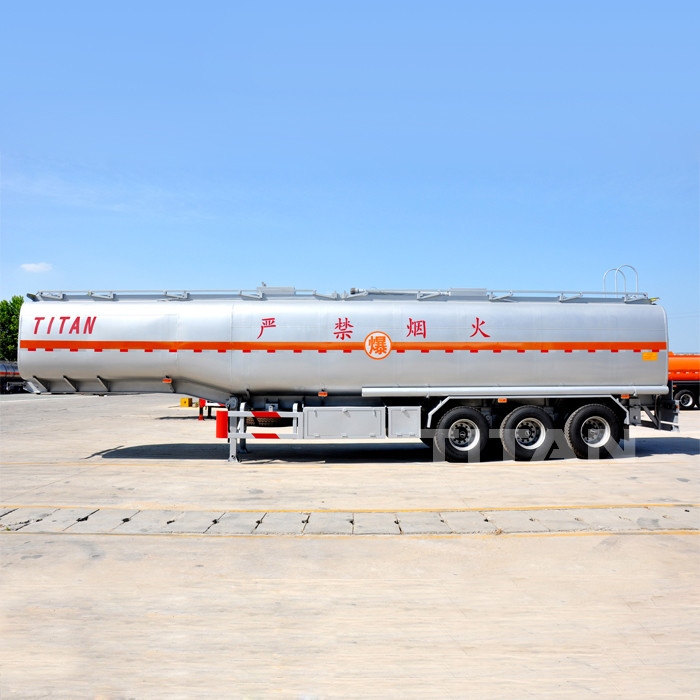 42000 liter 4 Compartments Fuel Tanker Trailer for Sale in
