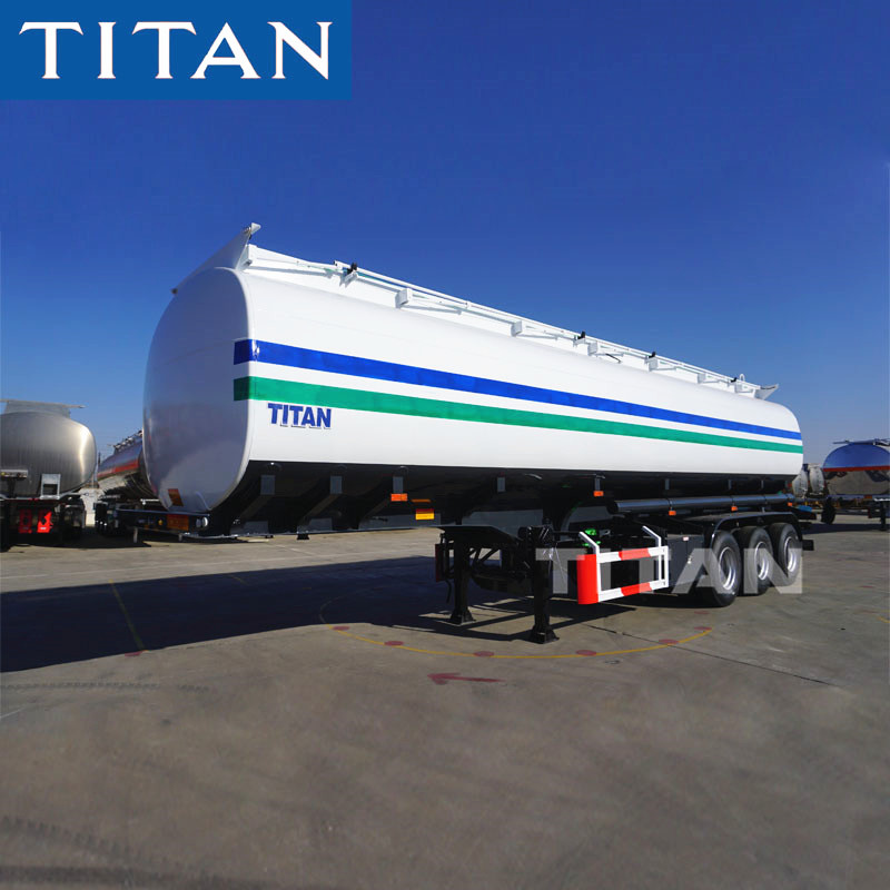 41000/42000 Liters capacity Carbon steel fuel tank semi