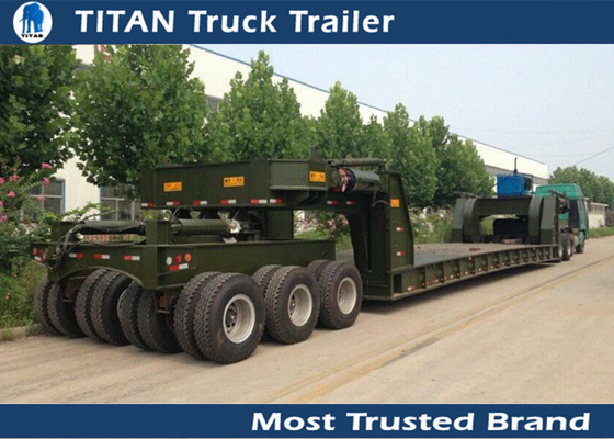 Special Transportation 150 ton lowboy Heavy Haul Trailers with 4 lines 8 axles