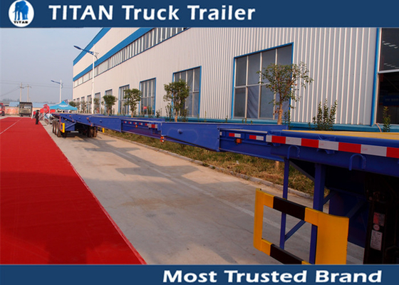 Building Structures Extendable Flatbed Trailer